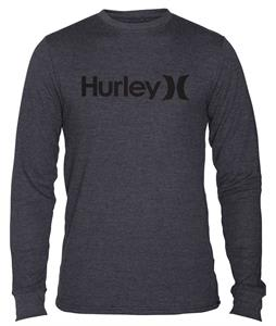 Hurley One & Only L/S Thermal Heather Black