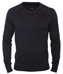 Hurley One & Only V-Neck Sweater Heather Black