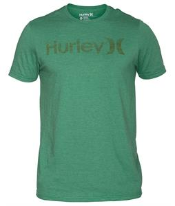 Hurley One & Only Push Through Premium T-Shirt Heather Purple