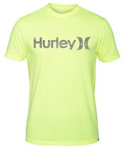 Hurley One & Only Push Through T-Shirt Heather Volt