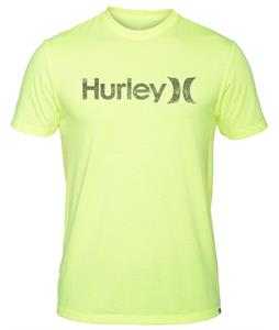 Hurley One & Only Push Through Premium T-Shirt Heather Volt