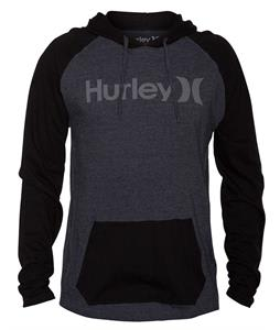 Hurley One & Only Raglan Heather Black/ Black