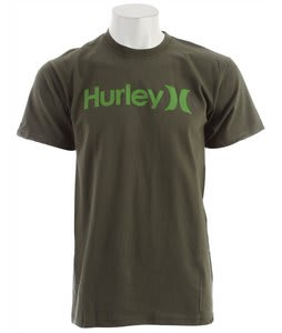 Hurley One & Only Seasonal T-Shirt Utility Green