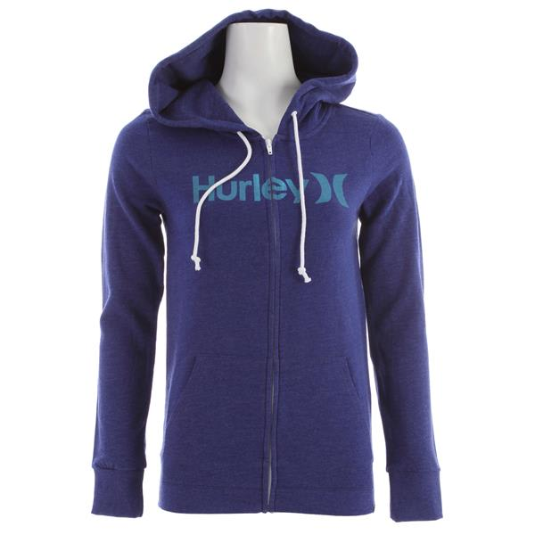Hurley One & Only Slim Fleece Zip Hoodie