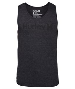 Hurley One & Only Tank Heather Black