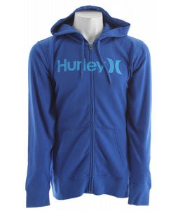 Hurley One & Only Zip Hoodie Heather Royal