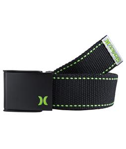 Hurley One & Only Web Belt Black/Neon Green