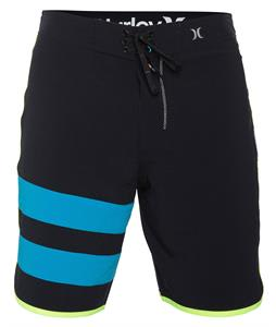 Hurley Phantom 60 Block Party Solid Boardshorts Black/Multi