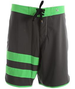 Hurley Phantom Block Party Solid Boardshorts Cinder Green