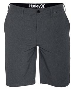 Hurley Phantom Boardwalk Shorts Heather Black