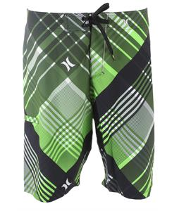 Hurley Phantom Catalina Bias Boardshorts Neon Green