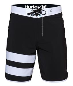Hurley Phantom Block Party Solid Boardshorts Black