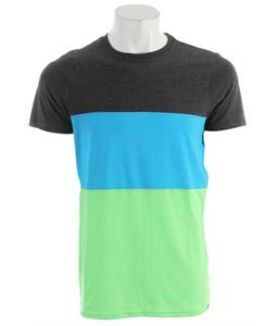 Hurley Premium Blocked Crew Shirt Heather Neon Green