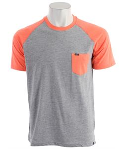 Hurley Premium Pocket Raglan Heather Neon Orange