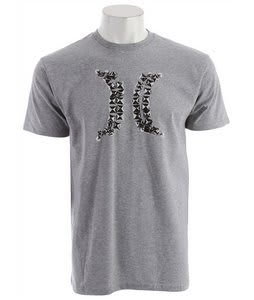 Hurley Punker Icon T-Shirt Heather Grey