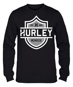 Hurley Pyrate Crew Sweatshirt Black