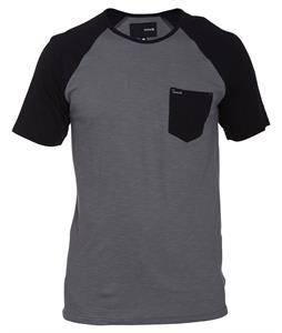 Hurley React Ragland Raglan Graphite
