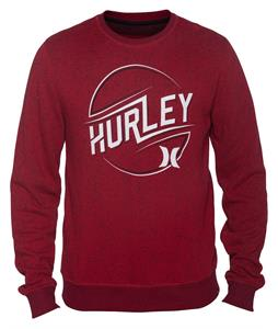 Hurley Retreat Carl Crew Sweatshirt Valiant Red