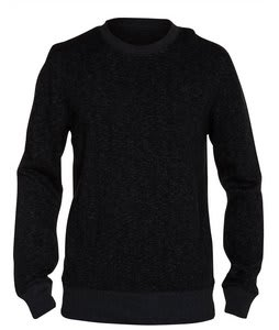 Hurley Retreat Crew Sweatshirt Heather Black