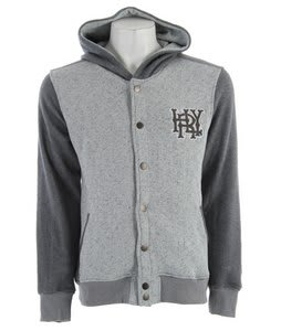 Hurley Retreat Grade Hoodie Heather Ash Grey