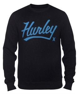 Hurley Retreat Marv Crew Sweatshirt Black