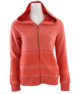 Hurley Retreat Zip Hoodie Heather Grapefruit