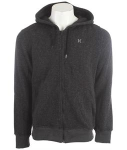 Hurley Retreat Zip Hoodie Heather Black