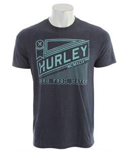 Hurley Ribbon T-Shirt Heather Navy