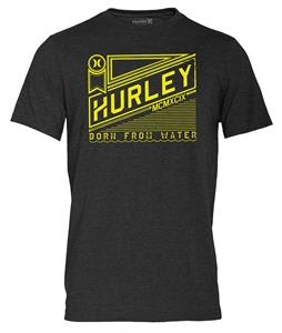 Hurley Ribbon T-Shirt Heather Black