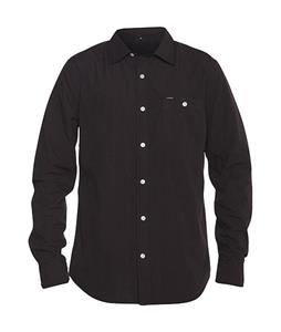 Hurley Rise Solid Shirt Black