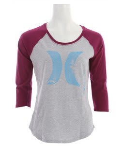 Hurley Scratch Fever Base Raglan Acai Berry