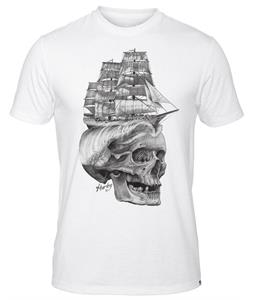 Hurley Ship Head Premium T-Shirt White