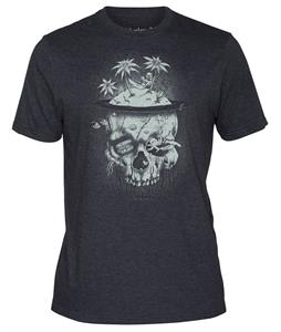 Hurley Skully T-Shirt Heather Black