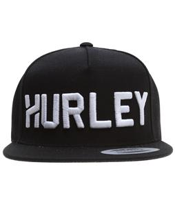 Hurley Stadium Cap Black