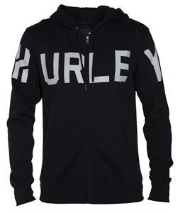 Hurley Stadium Zip Hoodie Black