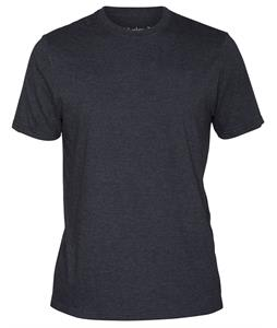 Hurley Staple Crew T-Shirt Heather Black