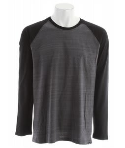 Hurley Staple L/S Marble Raglan Cinder