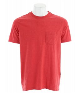 Hurley Staple Pocket Premium T-Shirt Red
