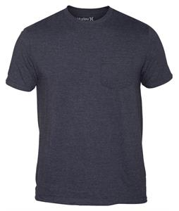 Hurley Staple Pocket T-Shirt Heather Black