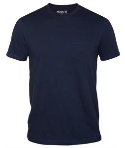 Hurley Staple Pocket T-Shirt Midnight Navy