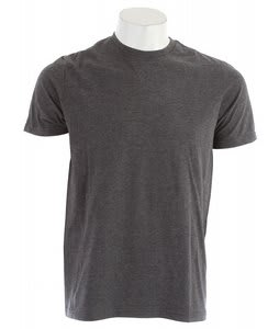 Hurley Staple Premium Crew T-Shirt Heather Black
