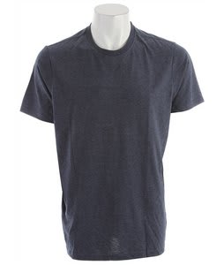 Hurley Staple Premium Crew T-Shirt Heather Navy