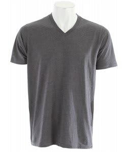 Hurley Staple V-Neck T-Shirt Black
