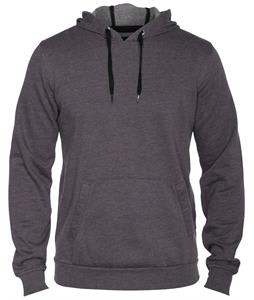 Hurley Staple Washed Pullover Hoodie Heather Graphite