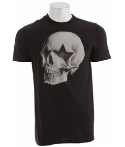 Hurley Star Skull T-Shirt Black