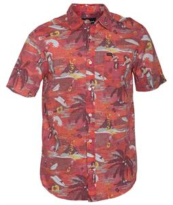 Hurley Suarez S/S Shirt Redwing