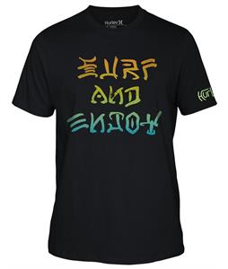 Hurley Surf And Enjoy T-Shirt Black