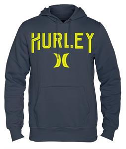 Hurley Tell Em Pullover Hoodie Dark Magnet Grey