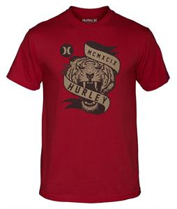 Hurley Tiger Fury Classic T-Shirt Valient Red