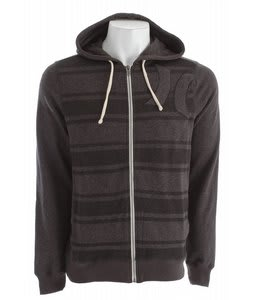Hurley Vacation Stripe Zip Hoodie